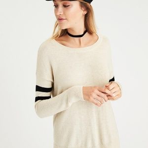 American Eagle Outfitters Step Hem Sweater